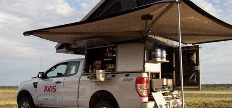 Ford Ranger Camper (2 pax)
