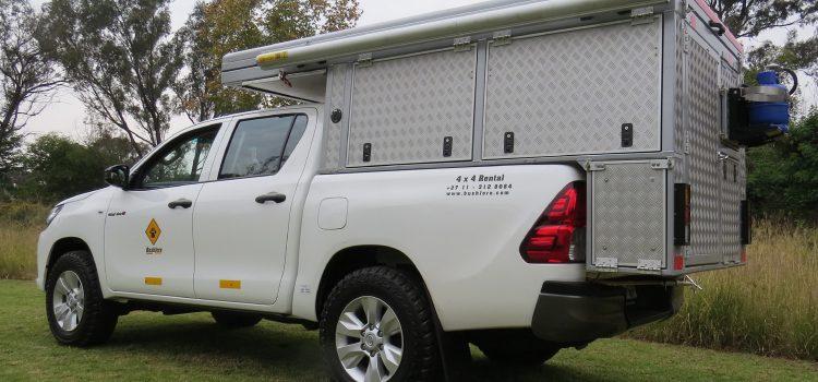 Toyota Hilux Camper (2-4 pax)