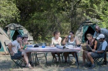 Bush Ways Mobile Camp Semi Participation