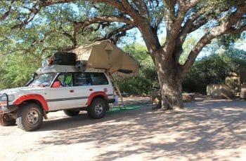 Moremi Gorge Campsite